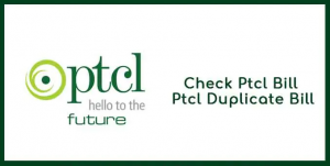PTCL duplicate bills